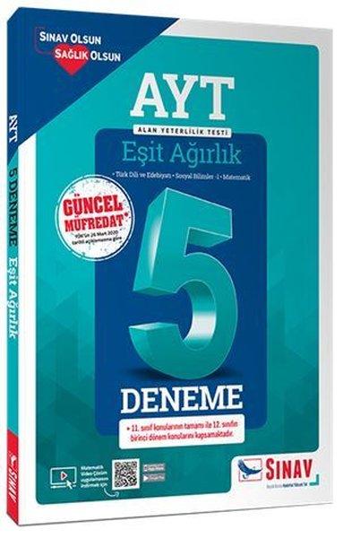 AYT Eşit Ağırlık Çözümlü 5 Deneme.pdf