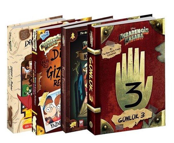 Disney Esrarengiz Kasaba Mega Seti-4  Kitap Takım.pdf