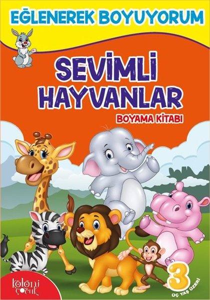 Sevimli Hayvanlar Boyama Kitabı-Eğlenerek Boyuyorum.pdf