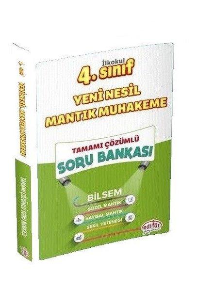 Editör 4. Sınıf Yeni Nesil Mantık Muhakeme Soru Bankası.pdf