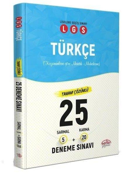 Editör 8. Sınıf LGS Türkçe 5 Sarmal 20 Karma 25 Deneme Sınavı.pdf