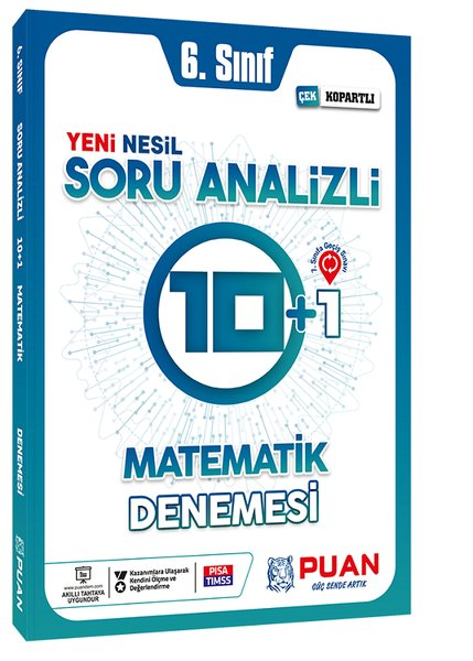 Puan 6. Sınıf Matematik Soru Analizli 10+1 Deneme.pdf