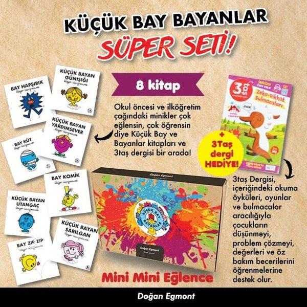 Küçük Bay Bayanlar Süper Seti! - Mini Mini Eğlence - 8 Kitap Takım.pdf