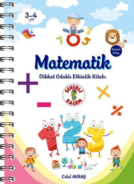 Matematik - Dikkat Odaklı Etkinlik Kitabı 3-4 Yaş.pdf