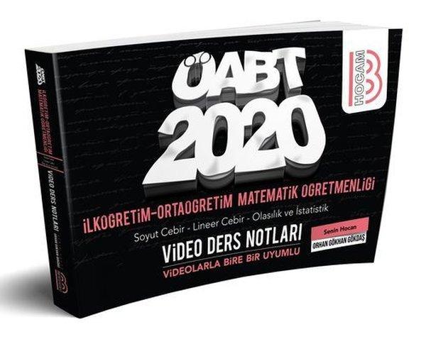 Benim Hocam Yayınları 2020 ÖABT İlköğretim Ve Ortaöğretim Matematik Öğretmenliği Cebir - Olasılık Ve İstatislik.pdf