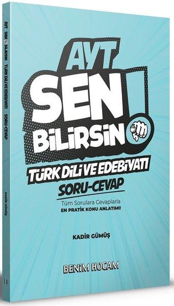 Benim Hocam Yayınları 2020 AYT Türk Dili Ve Edebiyatı Sen Bilirsin Soru - Cevap Kitabı.pdf