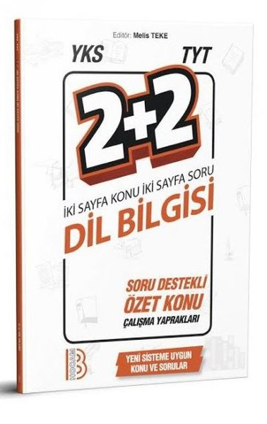 Benim Hocam Yayınları Yks TYT Dil Bilgisi 2+2 Soru Destekli Özet Konu Yaprakları.pdf