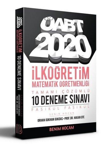 Benim Hocam Yayınları 2020 ÖABT İlköğretim Matematik Öğretmenliği Tamamı Çözümlü 10 Fasikül Deneme.pdf