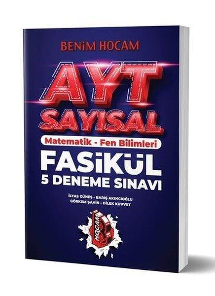 Benim Hocam Yayınları 2020 AYT Sayısal 5 Fasikül Deneme Sınavı.pdf