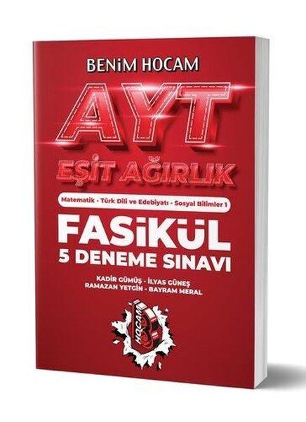 Benim Hocam Yayınları 2020 AYT Eşit Ağırlık 5 Fasikül Deneme Sınavı.pdf