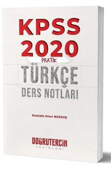 Doğru Tercih Yayınları 2020 KPSS Pratik Türkçe Ders Notları.pdf