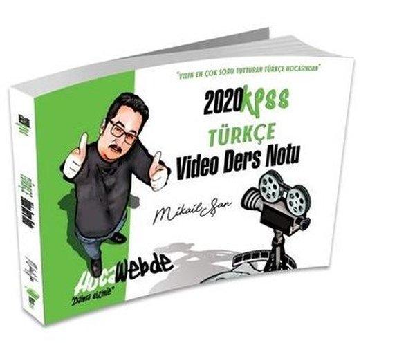 Hocawebde 2020 KPSS Türkçe Video Ders Notu.pdf
