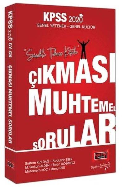 Yargı Yayınları 2020 KPSS Genel Yetenek Genel Kültür Çıkması Muhtemel Sorular.pdf