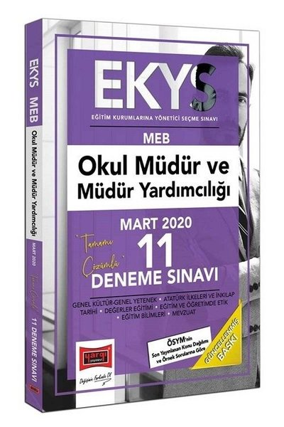 Yargı Yayınları 2020 Ekys Meb Okul Müdür Ve Müdür Yardımcılığı Tamamı Çözümlü 11 Deneme Sınavı.pdf