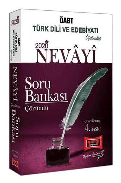 Yargı Yayınları 2020 ÖABT Nevayi Türk Dili Ve Edebiyatı Öğretmenliği Çözümlü Soru Bankası 4. Baskı.pdf