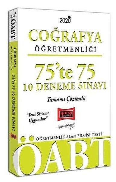 Yargı Yayınları 2020 ÖABT Coğrafya Öğretmenliği 75'Te 75 Tamamı Çözümlü 10 Deneme Sınavı.pdf
