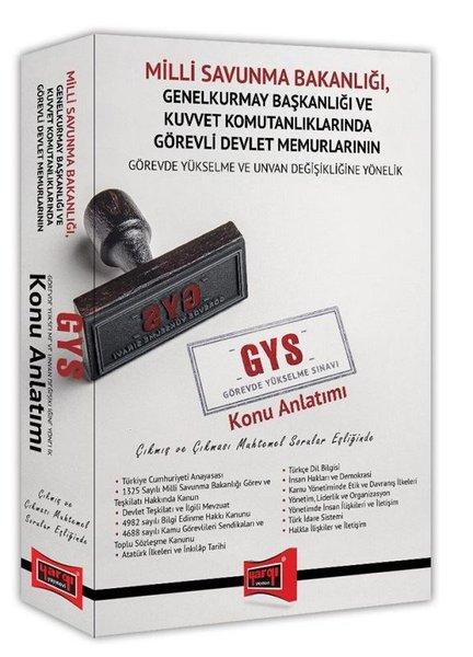 Yargı Yayınları Gys Milli Savunma Bakanlığı Çıkmış Ve Çıkması Muhtemel Sorular Eşliğinde Konu Anlatı.pdf