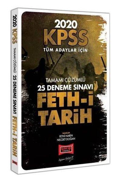 Yargı Yayınları 2020 KPSS Feth-İ Tarih Tamamı Çözümlü 25 Deneme Sınavı.pdf