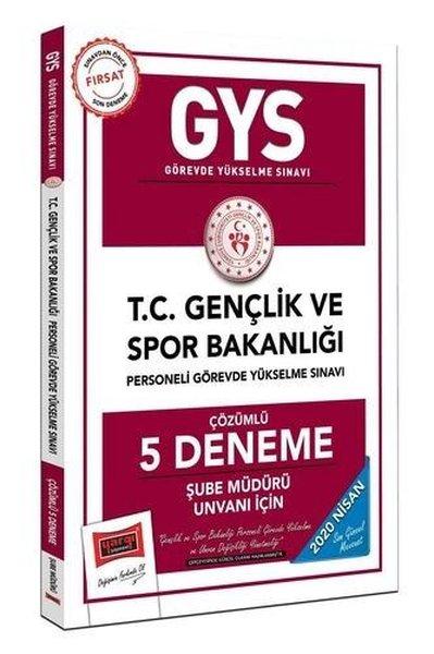 Yargı Yayınları 2020 Gys T.C. Gençlik Ve Spor Bakanlığı Şube Müdürü Unvanı İçin Çözümlü 5 Deneme.pdf