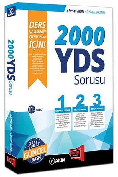 Akın Dil & Yargı Yayınları 2000 YDS Sorusu Ders Çalışmayı Sevmeyenler İçin.pdf