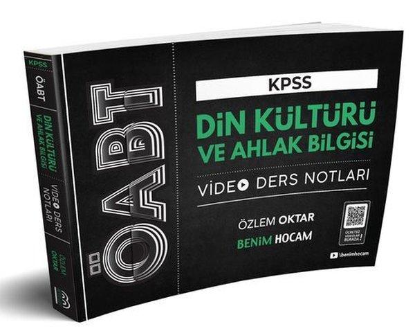 Benim Hocam Yayınları 2020 ÖABT Din Kültürü Ve Ahlak Bilgisi Öğretmenliği Video Ders Notları.pdf
