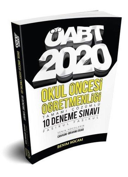Benim Hocam Yayınları 2020 ÖABT Okul Öncesi Öğretmenliği Tamamı Çözümlü 10 Fasikül Deneme.pdf