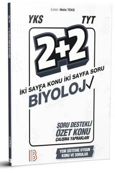 Benim Hocam Yayınları Yks TYT Biyoloji 2+2 Soru Destekli Özet Konu Yaprakları.pdf