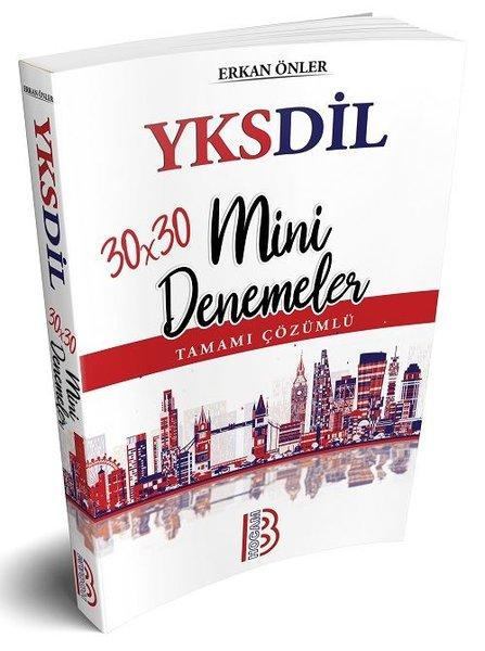Benim Hocam Yayınları Yksdil 30X30 Tamamı Çözümlü Mini Denemeler.pdf