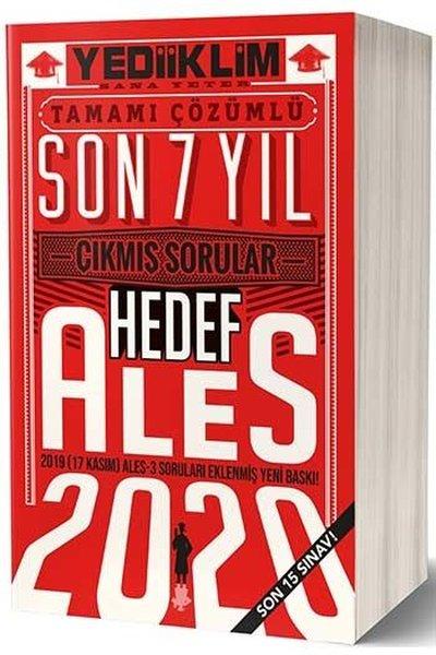 Yediiklim Yayınları ALES Son 7 Yıl Tamamı Çözümlü Çıkmış Sorular(17 Kasım ALES - 3 Dahil/Son 15 Sınav).pdf