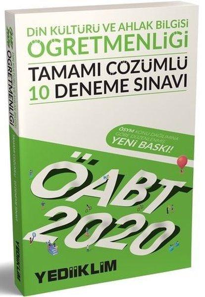 Yediiklim Yayınları 2020 KPSS ÖABT Din Kültürü Ve Ahlak Bilgisi Öğretmenliği Tamamı Çözümlü 10 Denem.pdf