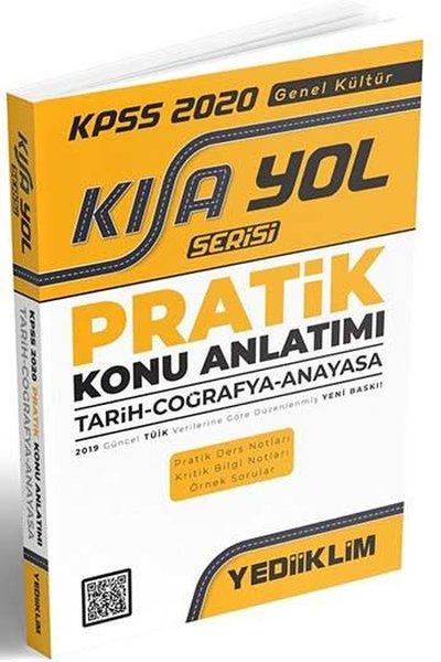 Yediiklim Yayınları KPSS 2020Kısayol SerisiGenel Kültür Pratik Konu Anlatımı (Tarih - Coğrafya - Anayasa).pdf