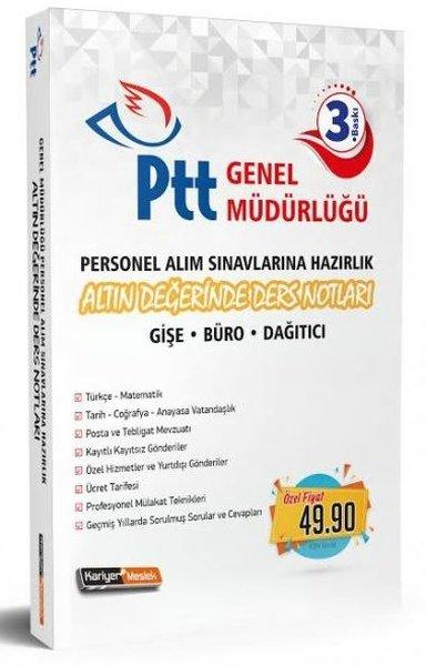Kariyer Meslek PTT Personel Alım Sınavlarına Hazırlık Altın Değerinde Ders Notları.pdf