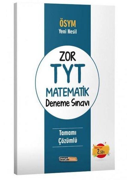 Kariyer Meslek TYT ÖSYM Yeni Nesil Zor Matematik Tamamı Çözümlü Deneme Sınavı.pdf