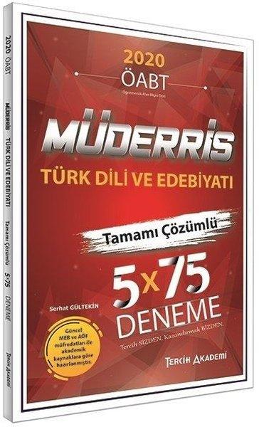 Tercih Akademi 2020 KPSS ÖABT Müderris Türk Dili ve Edebiyatı 5 Deneme.pdf