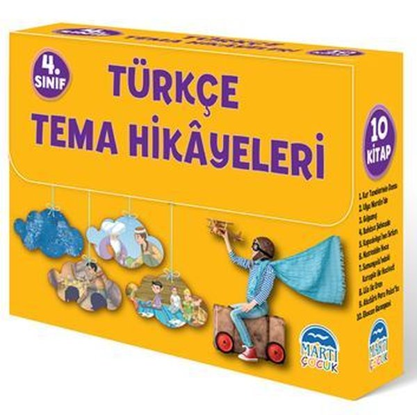 Türkçe Tema Hikayeleri Seti - 10 Kitap Takım.pdf
