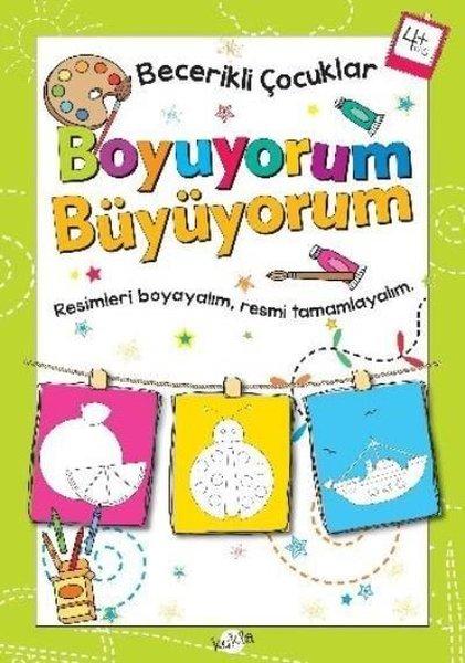 Becerikli Çocuklar Boyuyorum Büyüyorum 4 Yaş Boyama Kitabı.pdf