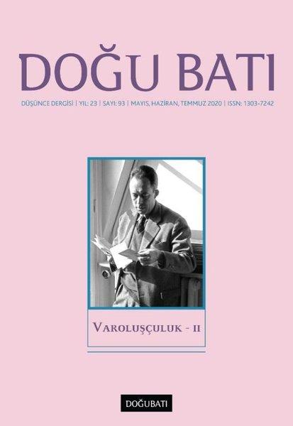 Doğu Batı Sayı 93 - Varoluşçuluk 2.pdf