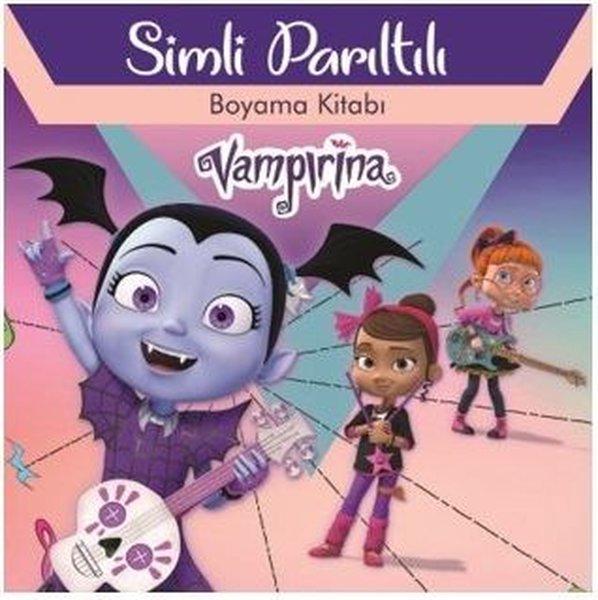 Disney Vampirina - Simli Parıltılı Boyama Kitabı.pdf