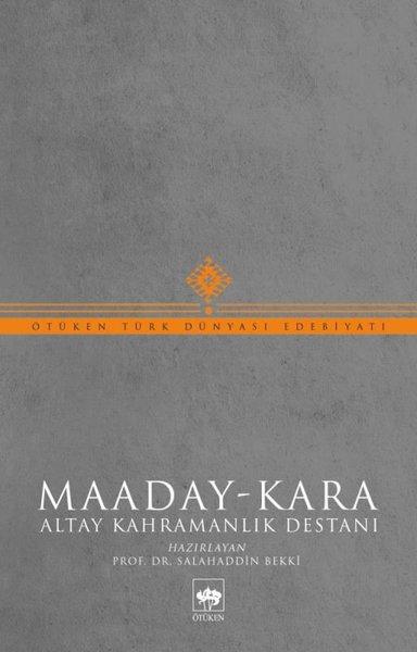 Maaday - Kara: Altay Kahramanlık Destanı.pdf