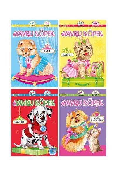 Yavru Köpek Seti - Boyama Çıkartma 4 Kitap Takım.pdf