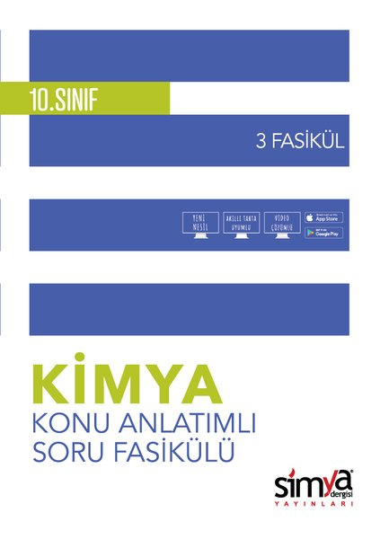 10. Sınıf Kimya Konu Özetli Soru Fasikülü - 3 Adet.pdf