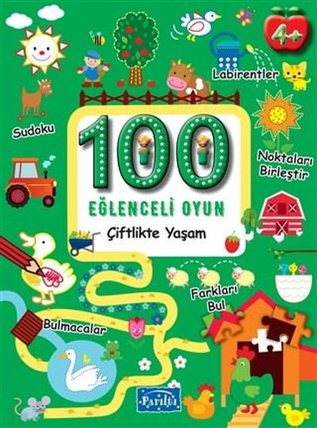 100 Eğlenceli Oyun - Çiftlikte Yaşam - Boyama.pdf