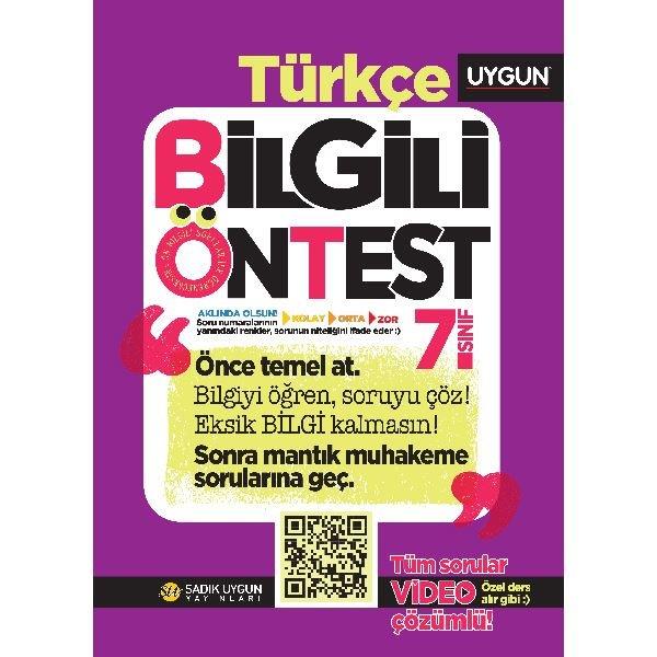 7.Sınıf Bilgili Ön Test Türkçe.pdf
