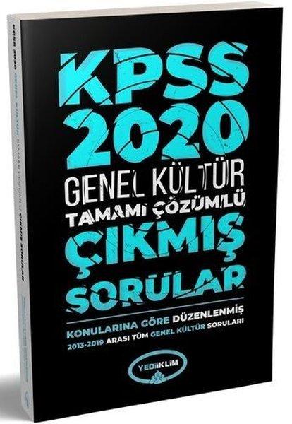 2020 KPSS Genel Kültür2013 - 2019Konularına Göre Tamamı Çözümlü Çıkmış Sorular.pdf