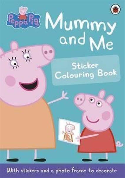 Peppa Pig: Mummy and Me Sticker Colouring Book.pdf