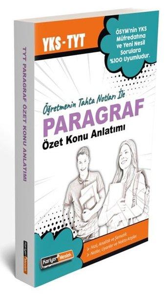 YKS - TYT Paragraf Öğretmenin Tahta Notları ile Özet Konu Anlatımı.pdf