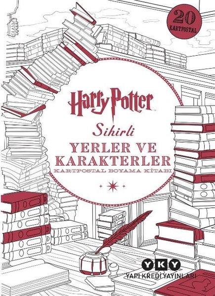 Harry Potter Sihirli Yerler ve Karakterler - Kartpostal Boyama Kitabı.pdf
