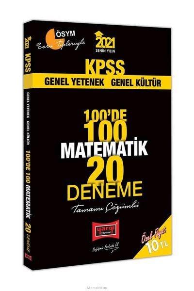 2021 KPSS Matematik 100de 100 Tamamı Çözümlü 20 Deneme.pdf
