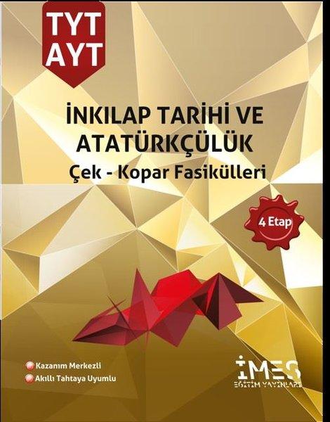TYT - AYT Inkılap Tarihi ve Atatürkçülük Çek - Kopar Fasikülleri 4 Etap.pdf