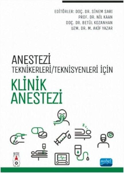 Anestezi Teknikeri - Teknisyenleri İçin Klinik Anestezi.pdf